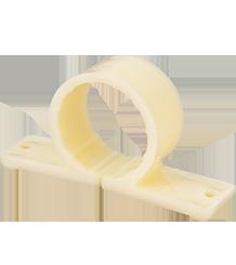 Abrazadera de tubo de polímero para PEX, CPVC, cobre